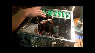 How To Remove The Hard Drive From An Acer Aspire T135