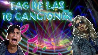 Tag de las 10 Canciones | Marlon Calpa