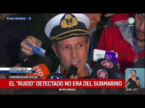 Sin rastros del submarino perdido