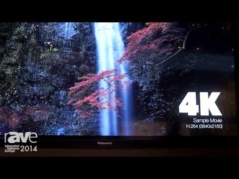 ISE 2014: Panasonic Presents New 84-inches 4K LCD Display