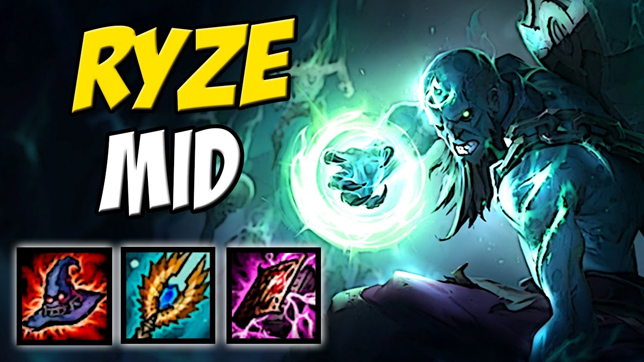lol how to play ryze mid