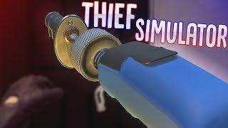 Thief Simulator -  Electric Lock Pick - Police Foot Chase! - Thief Simulator Gameplay