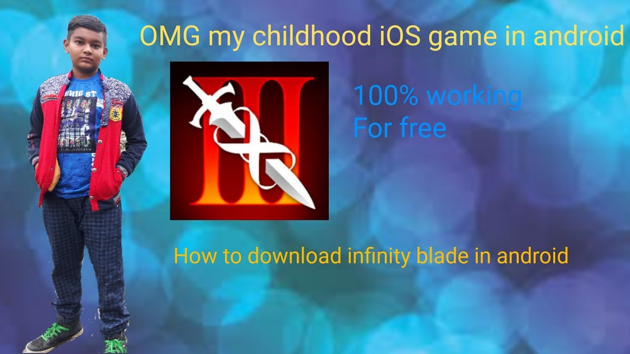 How to download infinity blade saga in android ios game in android