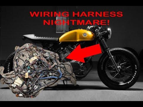 Yamaha 750 Wire Harness Wire Harness 1981 Yamaha Virago 750 ... on