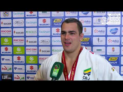 David MOURA 100k (BRA) Silver World Judo Champs 2017