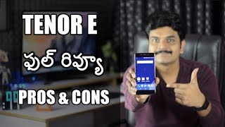 Tenor E Mobile Review With Pros & Cons ll in telugu ll