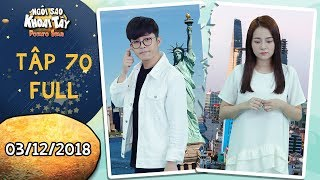 Ngôi sao khoai tây  tập 70 full: Hoàng Vũ quyết tâm đi du học mặc cho Song Nghi rơi nước mắt vì mình
