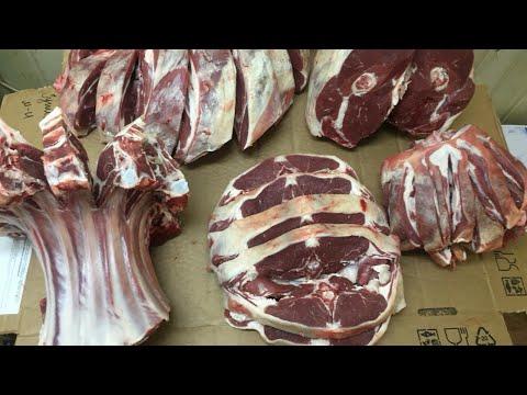 Разделка баранины Рынок. meat cutting, meat, butcher, 肉,切肉,屠夫,猪肉,牛肉,羊肉,鸡,係食物呀!