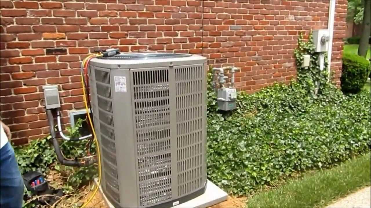 medium resolution of american standard install 100 000 btu 95 2 stage furnace 4 ton 15 seer a c unit youtube