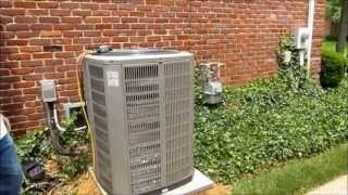 American Standard Install 100,000 BTU 95% 2 Stage Furnace & 4 Ton 15 Seer A.C. Unit