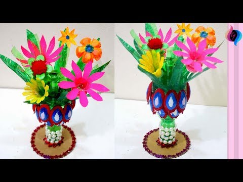 Download How To Make A Flower With Plastic Bottles Videos From