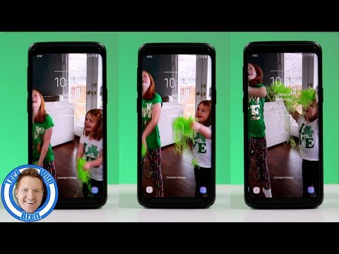 Galaxy S9 Video Lock Screen & Home Screen Settings