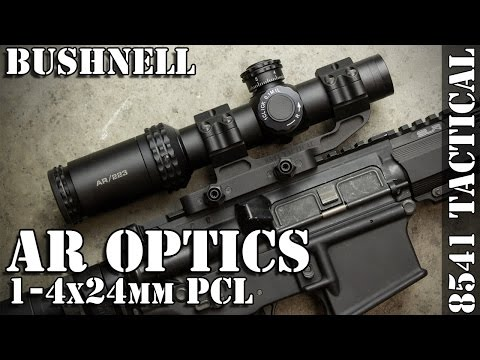 Bushnell AR Optics 1-4x24mm PCL Throw Down Review