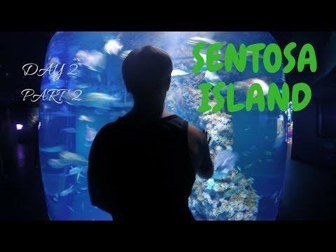 S.E.A Aquarium on Sentosa Island   SINGAPORE travel