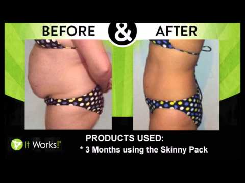 It Works Body Wraps AMAZING Results Before and After