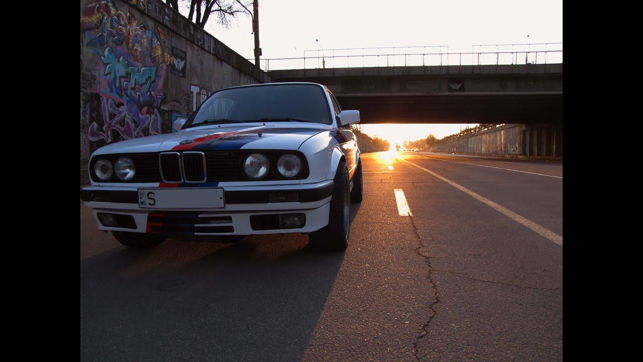 Тест-драйв BMW 3-series E30 300л.с. V8 M60B40 обзор  PitStopMD