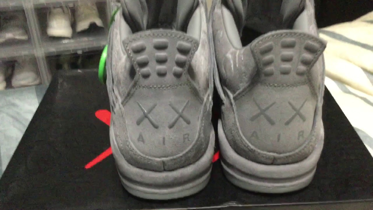 Did StockX Send Me Fake Jordan 4 Kaws  - YouTube 6386ecf0a26a