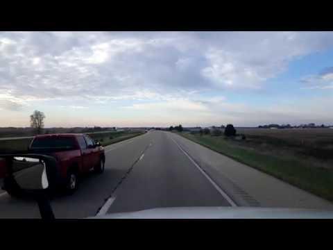 BigRigTravels LIVE! Mendota, Illinois to Memphis, Indiana I-39,74 & 65-Nov. 6, 2017