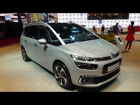 2017 Citroen C4 Picasso - Exterior and Interior - Paris Auto Show 2016