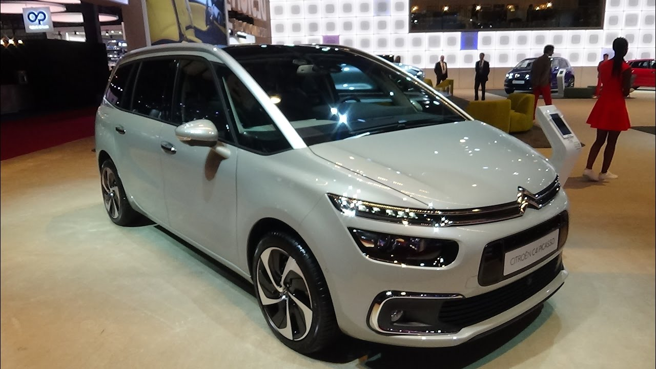 2017 citroen c4 picasso exterior and interior paris auto show 2016 youtube - C4 picasso interior ...