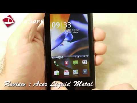 Droidsans Review : Acer Liquid Metal