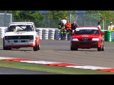 Nürburgring 2010 - Alfa Romeo 33 vs. VW Golf GTI