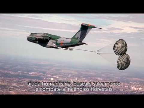 KC-390 debut at the Farnborough Airshow 2016