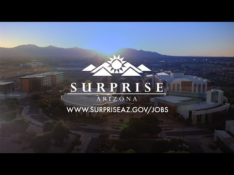 Come work with the City of Surprise! video thumbnail