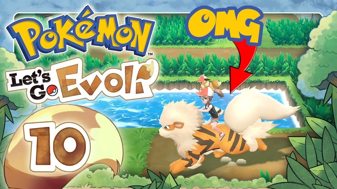 Pokemon LetS Go Evoli Komplettlösung