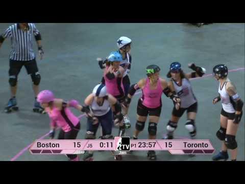 Toronto Roller Derby V Boston Derby Dames: 2013 WFTDA D1 Playoffs In Salem