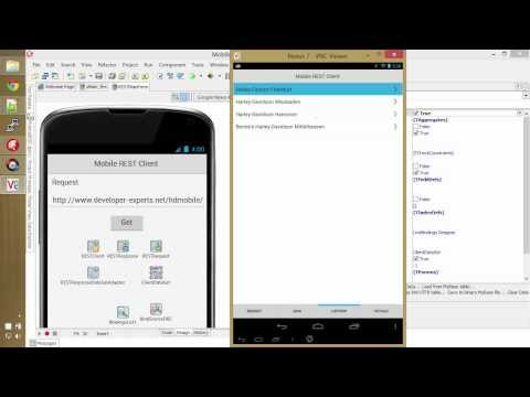 Delphi XE5 Mobile REST Client Demo