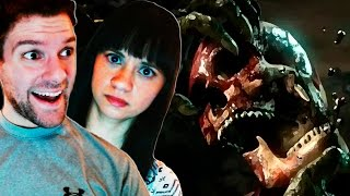 MAKING LISSY WATCH X-RAY ATTACKS | Mortal Kombat X