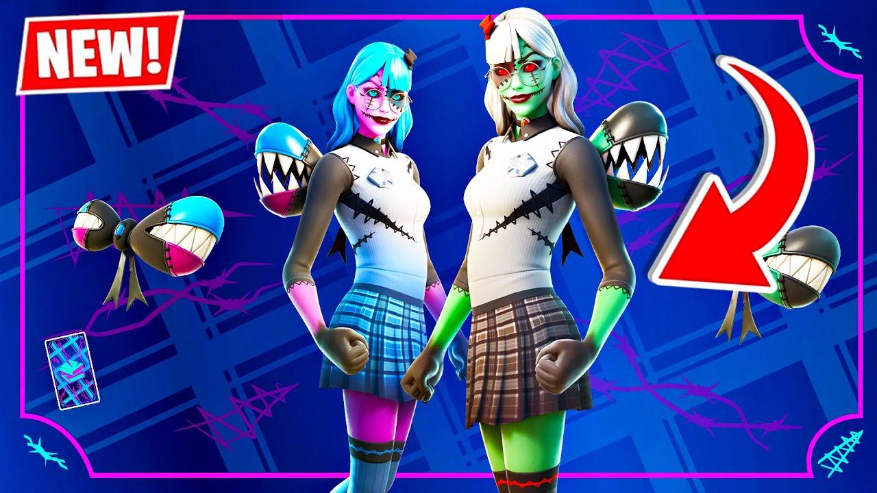 Download RANDOM DUOS + CUSTOM GAMES!! New ZOMBIE ISABELLE Skin! (Fortnite Halloween Update)