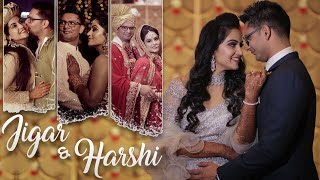 Wedding Highlights of Jigar & Harshi - Female Vocals by Harshi - Makhna Drive