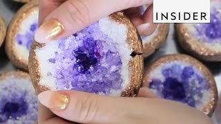 How to Make Geode Cookies thumbnail