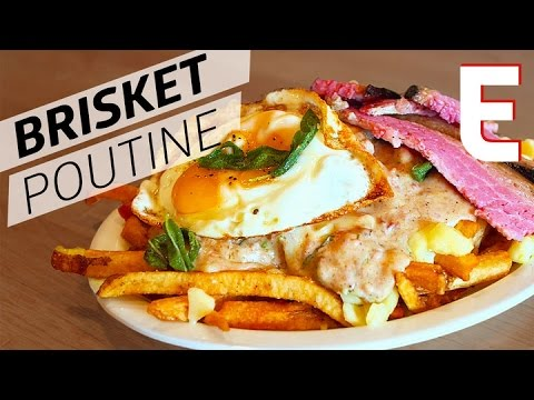 Luxurious Brisket Poutine at New York Mile's End — Eater's Afternoon Snack