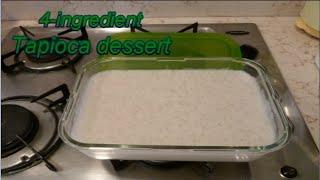 Tapioca Dessert Recipe מתכון לקינוח טפיוקה