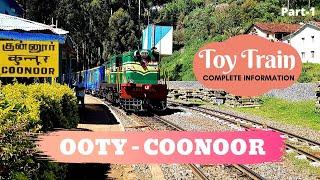 Ooty Coonoor Toy Train Journey | Complete Information | UNESCO World Heritage Site #travelwithkids