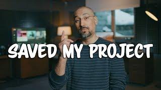 Aputure Amaran AL-H198 (a $56) On Camera LED Light Saved My Project filmmaking vlog