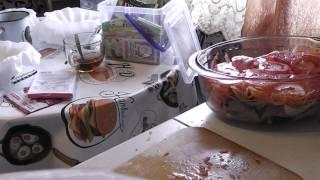 Налим с овощами, запечённый в духовке! Быстро и очень вкусно!