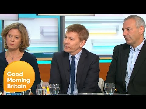 Leave E.U Delete Controversial 'Xenophobic' Post About Angela Merkel | Good Morning Britain