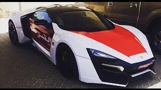 ¿Como persigue la policía de Dhabi un Nissan GTR y un McLaren?