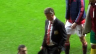 Louis van Gaal Is Heavily Booed Off The Pitch As Some Fans Chant For Jose Mourinho !
