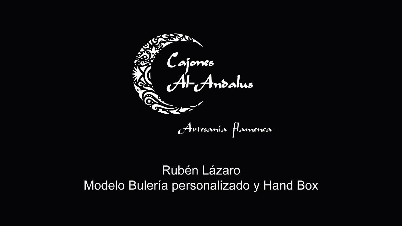 RUBÉN LÁZARO, percusionista, tocando el modelo Bulería y el Hand Box 🎶🥁 🎶