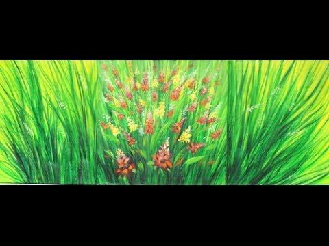 Como pintar un cuadro con pinturas acrilicas triptico for Pinturas acrilicas para cuadros