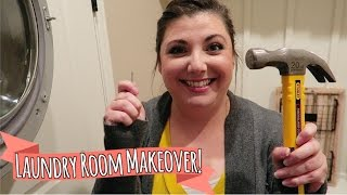 Decorate the Laundry Room with Me!   SATURDAY VLOGGING
