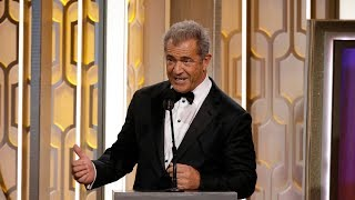 Mel Gibson Speech At The Golden Globe Awards 2016. HDTV
