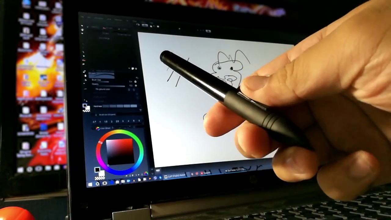 Huion H610 Pro (2048) Driver Test (It works!) | Also, Pen Not Working  (unless plugged in)