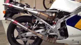 Honda NS400R with Jim Lomas exhaust