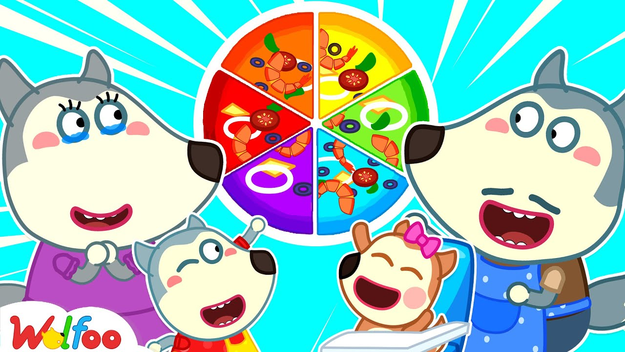 Wolfoo Makes Colorful Pizza for Mom - Mommy Is the Best - Kids Stories About Family | Wolfoo Channel